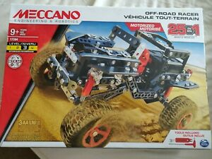 Meccano Off Road Racer 25 in 1 Brand New