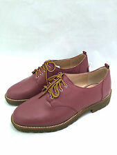 ZARA ROSE PINK LACE-UP TRACK LACE UP BLUCHER SHOES SIZE UK6/EUR39/US8