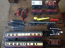 Collection Vintage Tri-ang Hornby Coaches, Wagons, Buffers, Rocket Launcher BOX
