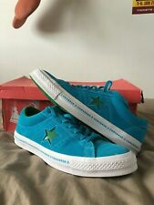 Converse One Star Green/Blue Mens US - 10 Only Worn Once !