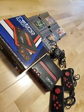 Retro Entertainment Console Nintendo With 4 Games. Tested, Works!