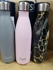 Lot of 3 Swell Vacuum Insulated Stainless Steel Water Bottle 17oz