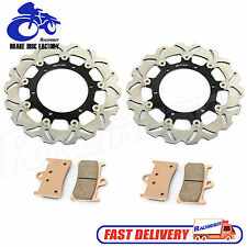 Front Brake Disc Rotor + Pads For Yamaha YZF 600 R R6 99-02 RRL/RRM/RRN/RRP New