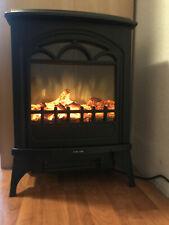 Elektrokamin elektrischer Kamin Ofen Heizfunktion 1950W Thermostat LED schwarz