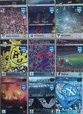 PANINI FIFA 365 2015 2016 12-TH MAN full SET 9 CARDS