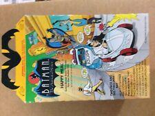 1993 McDonald's BATMAN THE ANIMATED SERIES Lot Happy Meal Boxes DC Comics