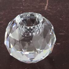 Swarovski Crystal Candle Holder Ball Global Candlestick