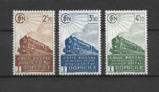 FRANCE SERIE N°183/185 COLIS POSTAUX NEUF ** LUXE TOP AFFAIRE !!!!!!!!!!!!!!!!!!