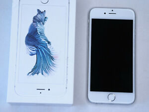 Apple iPhone 6S - 64GB - Silver white (Unlocked)  ( GSM)