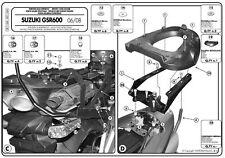 GIVI SR116M ATTACCO PER BAULETTO MONOLOCK PER SUZUKI GSR 600 2010 2011