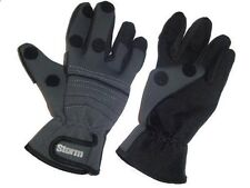 *Kiddy Storm Neoprene Waterproof Gloves - 3 Sizes Available (Fishing Clothing)