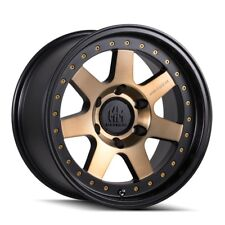 "18"" Mayhem Prodigy 8300 Black Bronze Tint Wheel 18x9 8x170 0mm Ford F250 F350"