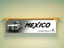 Ford MK1 AVO Escort Mexico BANNER for workshop Garage Classic car show display