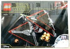OEM Lego Sith TIE Fighter 75272 Original instructions Booklet Manual New Disney