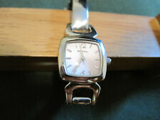 #368 ladys all stainless steel f2 FOSSIL quartz watch