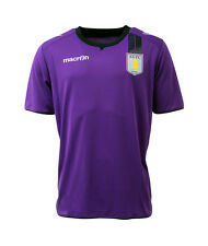 ASTON Villa 2013/14 pour Homme Football formation top t shirt Bnwt (XXL) - violet
