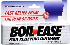 Boil-Ease Ointment Maximum Strength 1 oz PHARMACY FRESH!