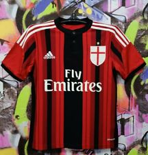 Ac Milan 2014 2015 Home Italy Football Shirt Soccer Jersey Adidas Youth size L