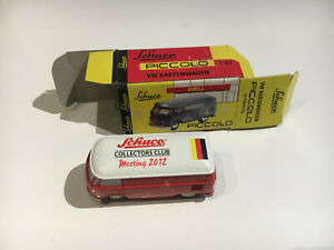 Schuco Piccolo 1:90 VW Bus Collectors Club Meeting 100 Jahre extrem RAR