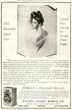 Vintage ad Print 1904 20 Mule Team Borax Head Print Macey Desks Grand Rapids