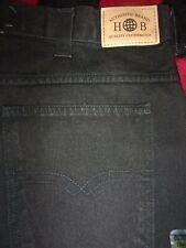 NEW Harbor Bay Black Jeans Sizes 40,42,44,46,48,50,52,54,56,60,62,64 (B242)