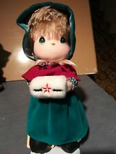 "Precious Moments Christmas Holiday Collectible Doll "" December"""