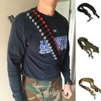Tactical 2 Point Adjustable Hunting Rifle Shotgun Sling Bungee Gun Strap System