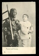 Acting Pierrot and Sweep Tuck Art Series  #1793 PPC 1911