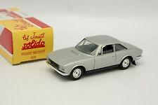 Solido Hachette 1/43 - Peugeot 504 Coupe 1978 Grise