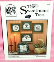The Sweetheart Tree Loving Patience Cross Stitch Chart Pattern Welcome Flowers