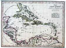 Antique map, Charte von West Indien nach den besten hulfsmitteln verfast