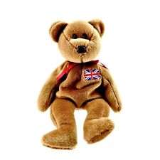e57c7280120 Ty Beanie Babies Britannia Soft Toy Teddy Bear Vintage 1997 Retired  Collectable