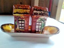 Cottage Ware Condiment Set - Price Bros England Japan (1106A)