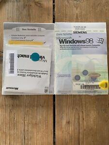 Windows 98, Deutsch OEM Vollversion mit MwSt Rechnung auf Ihren Namen