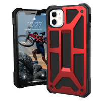 UAG Rugged Case for iPhone 11 [6.1-inch screen] - Monarch Crimson
