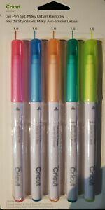 Cricut Gel Pen Set, Milky Urban Rainbow 2004589