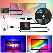 DIY Ambilight TV USB WS2812B LED Strip Tape Computer PC Dream Screen Backlight q