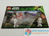 ⭐️LEGO 75001 STAR WARS REPUBLIC TROOPERS VS SITH TROOPERS - MANUAL ONLY - NEW⭐️