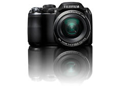 FUJIFILM FINEPIX S4000 SERIES DIGITAL CAMERA 14MP 30X OPTICAL ZOOM LENS (BLACK)