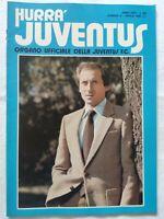 HURRA' JUVENTUS N. 4 APRILE 1980 MAROCCHINO FANNA FURINO LAKE PLACID RIJEKA