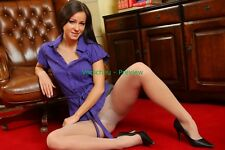 #P-33, Nylon Model A4 Foto, Pantyhose Strumpfhose Stocking Strapse Fetisch Bild