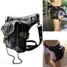 Vintage Gothic Steampunk Punk Handbag Waist Pack Shoulder Bag Coin Purse Leg