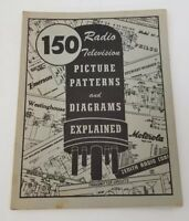 Coyne 150 Radio Television Picture Patterns and Diagrams Explained 1957 Book