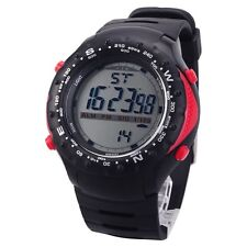 New Men's Multi Function Black & Red Digital Watch