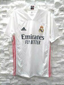 Adidas 2020-21 Real Madrid Maillot Domicile (FM4735) Blanc Rose