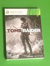 ** Tomb Raider Xbox 360 w/ Comic Book - Brand New / Factory Sealed