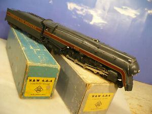 BRASS O Max Gray Norfolk & Western class J 4-8-4 C/P w/KES Drive NO RESERVE
