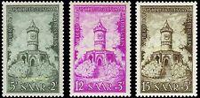 EBS Germany 1956 Saar Saarland Restoration of Memorials Michel 373-375 MNH**