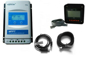 MPPT- Solarladeregler EPsolar XTRA 2210-3210-4210N2 XDS1 +Zubehör MT50+USBKabel