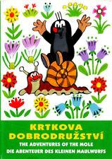 Krtkova Dobrodruzstvi 1 (Little Mole's Adventures 1) DVD Czech Cartoon Animation